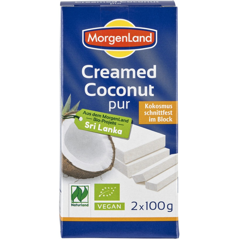 Crema de cocos