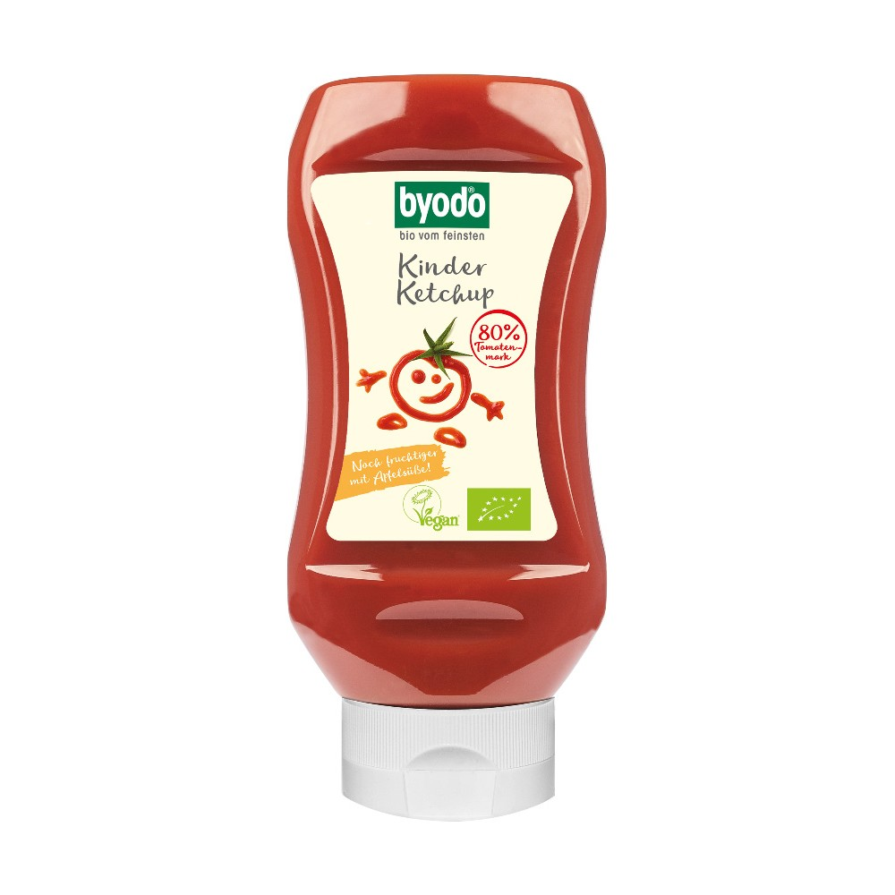 Ketchup pentru copii cu 80% tomate FARA GLUTEN